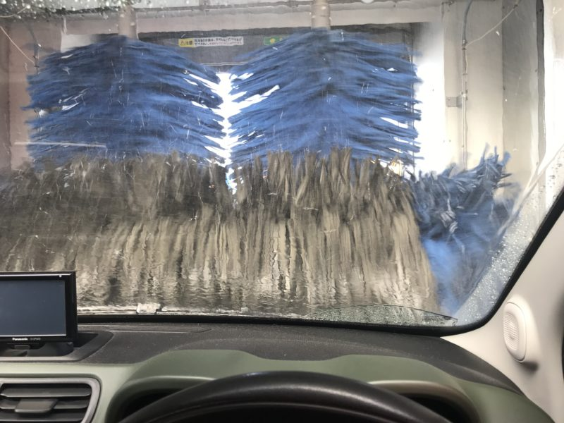 洗車 Panda4×4