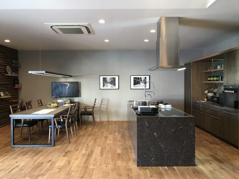製作キッチン 林建築設計室