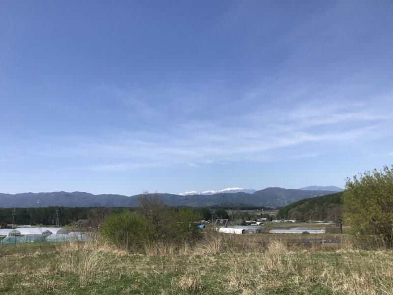 蓼科高原の別荘計画地