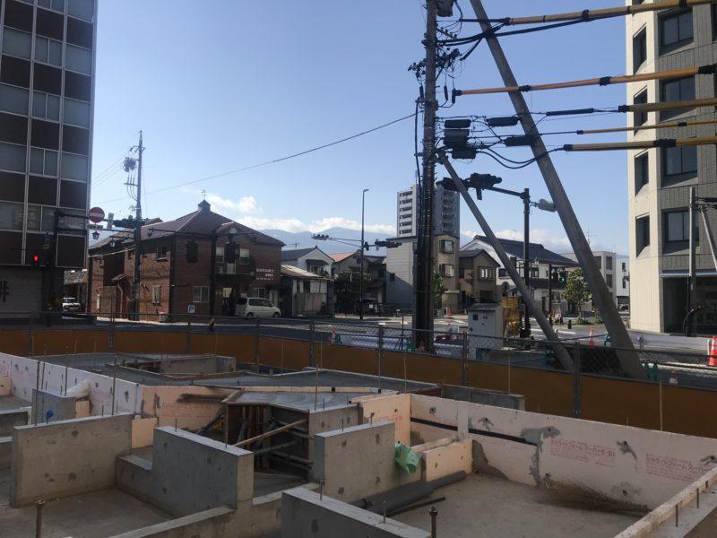 街角のコートハウス 松本市 基礎工事