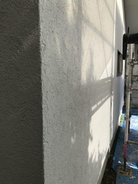 北穂高の平屋 外壁左官塗り仕上げ
