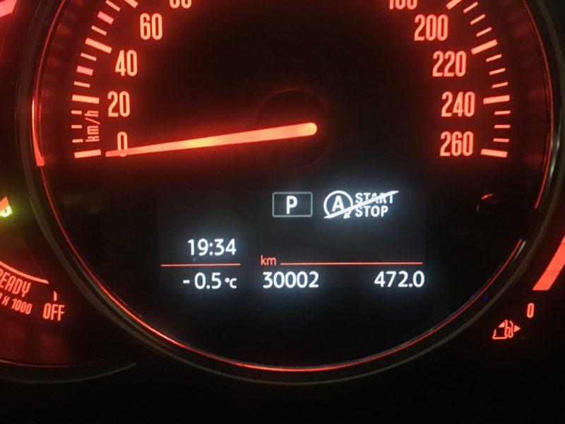 ミニクーパー5ドア ディーゼル号 走行30000km