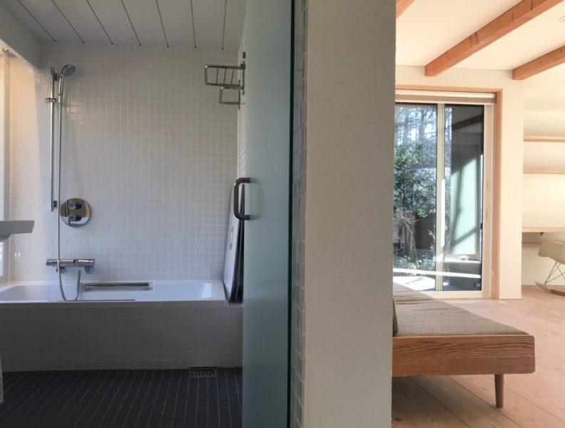 軽井沢の別荘設計 サニタリー