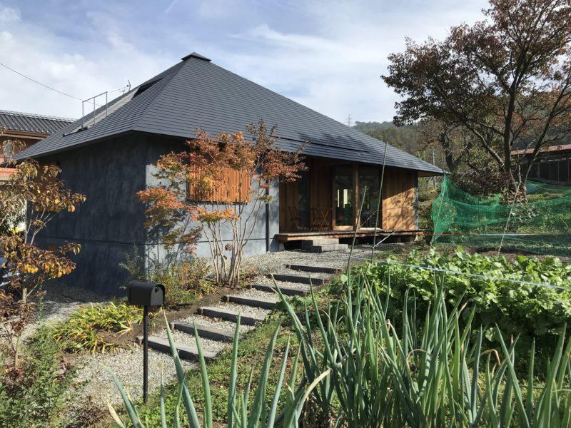 「里山の庵」筑北村の別荘