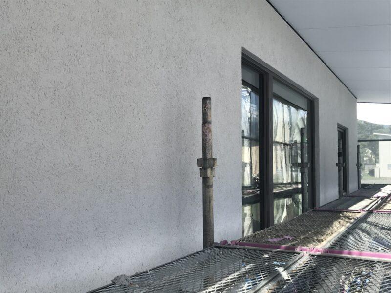 外壁左官塗り「霧ヶ峰を望む家」茅野市