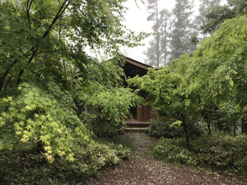 雨の蓼科高原 林建築設計室アトリエ
