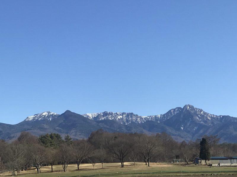 八ヶ岳 2020.12.1
