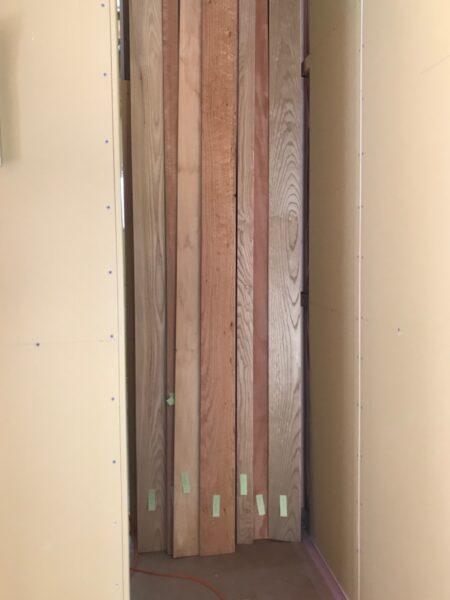 7種類の無垢板 林建築設計室