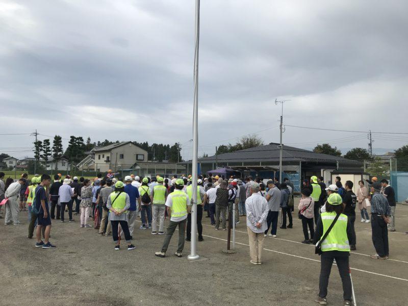 松本市竹渕町会 総合防災訓練