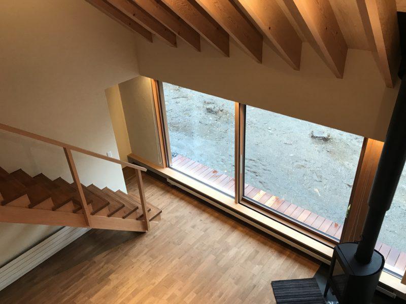 窓辺に佇む山荘 蓼科高原の別荘