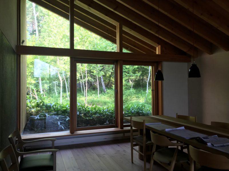 蓼科高原 別荘の設計