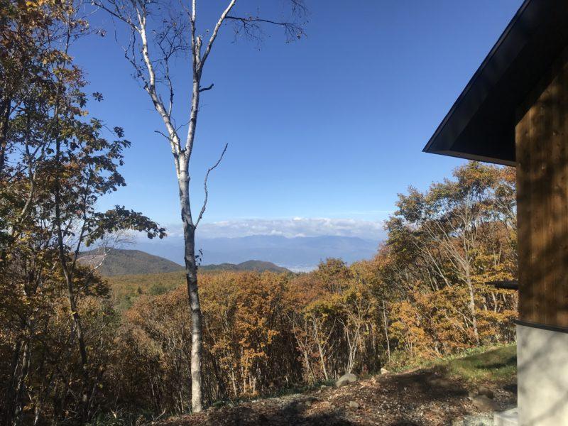 峰の原高原 別荘 雲海の見える家