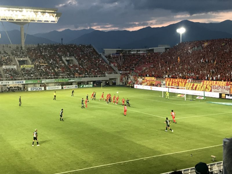 松本山雅FC vs 名古屋グランパス