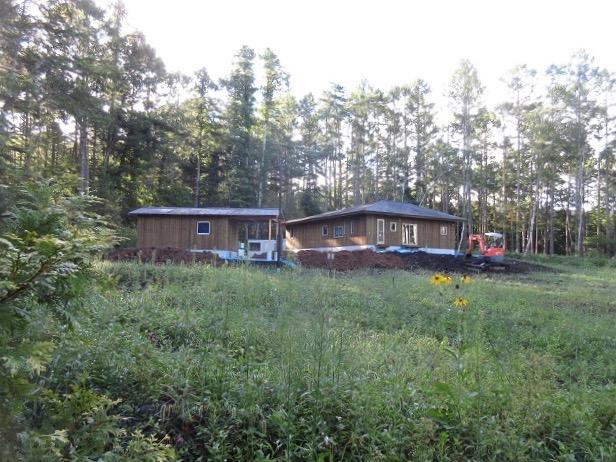 原村の住宅 自然に還る家