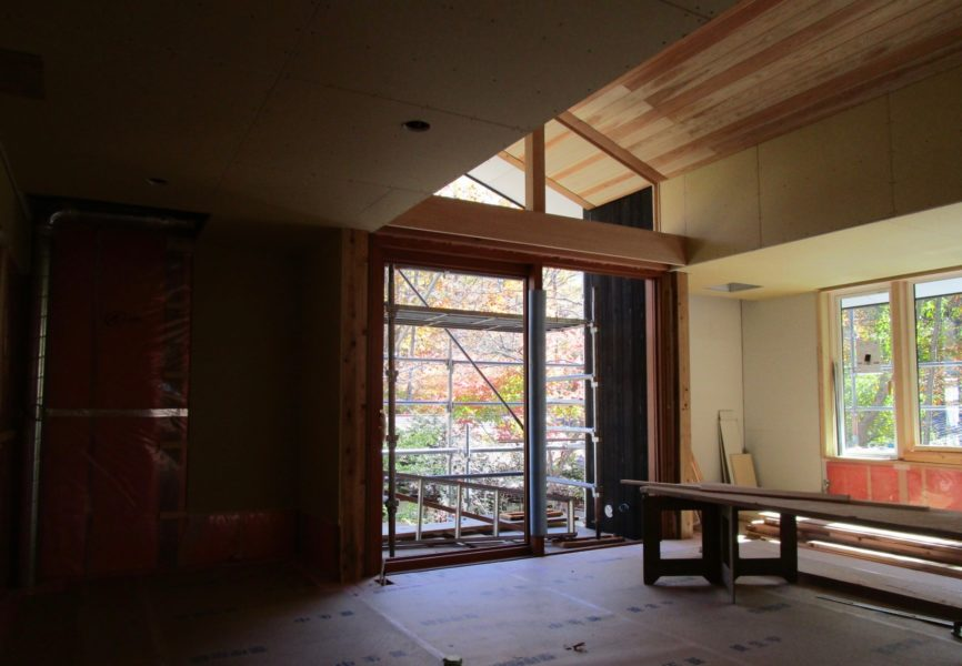 軽井沢の別荘設計