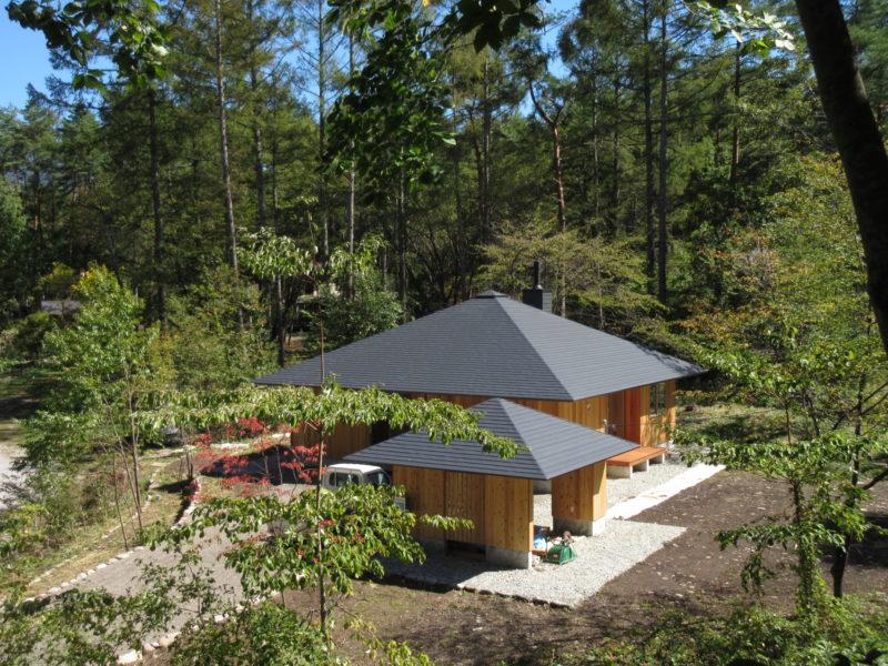 蓼科高原の別荘設計