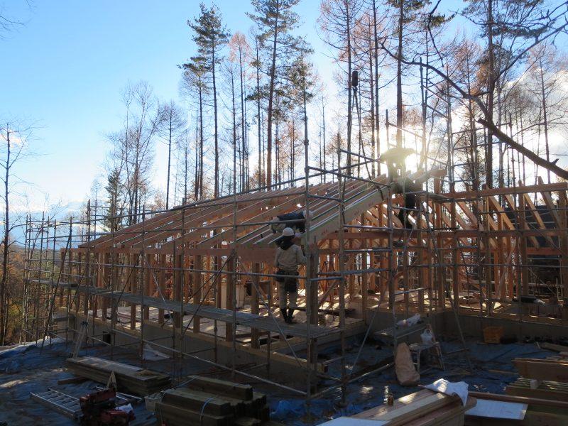 蓼科原村八ヶ岳エリアで別荘を設計する建築設計事務所