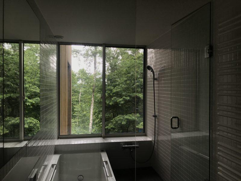 蓼科の別荘 浴室