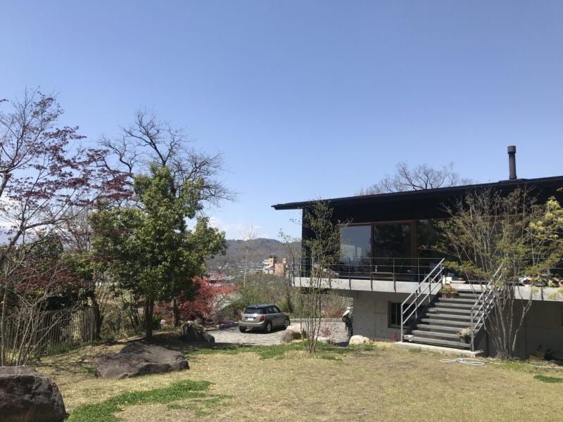 松本市の住宅設計「階層の家」