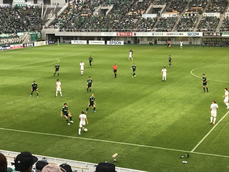 松本山雅 vs サンフレッチェ広島
