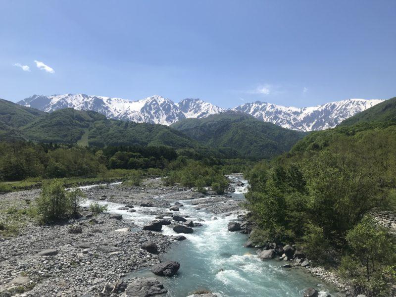 白馬村 松川