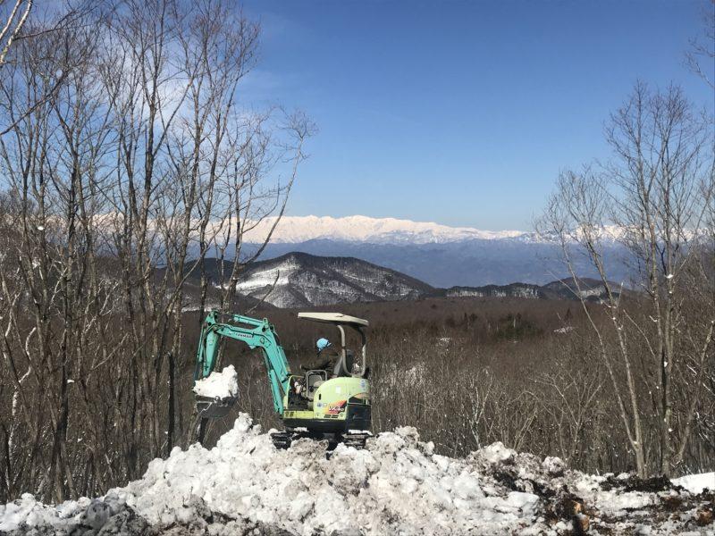 須坂市峰の原高原 別荘の設計