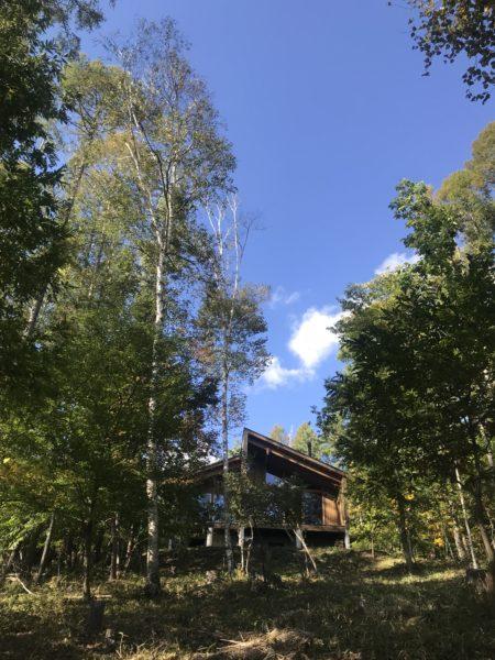 蓼科高原の別荘