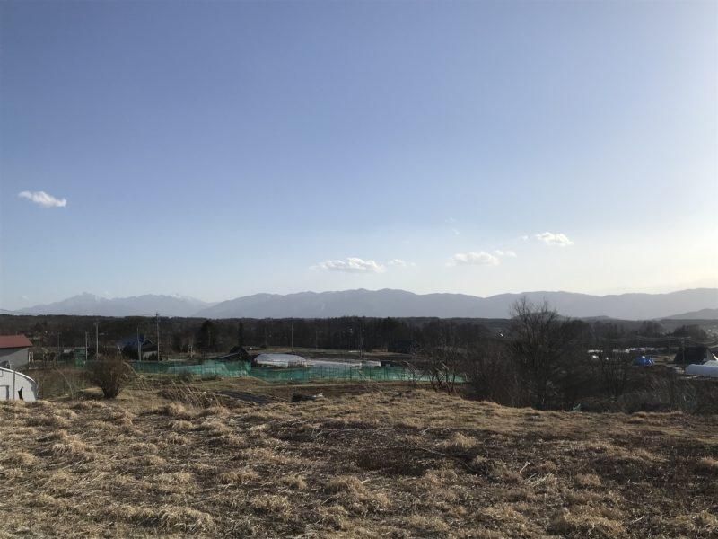 蓼科高原の別荘 計画敷地