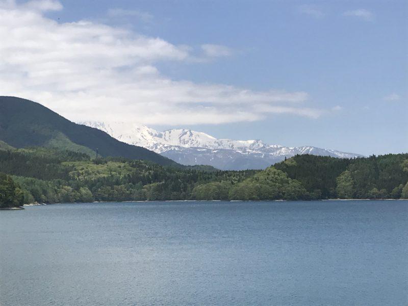 大町市 青木湖