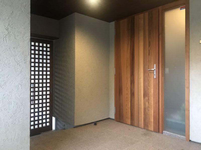 山形村 住宅設計 木製サッシ