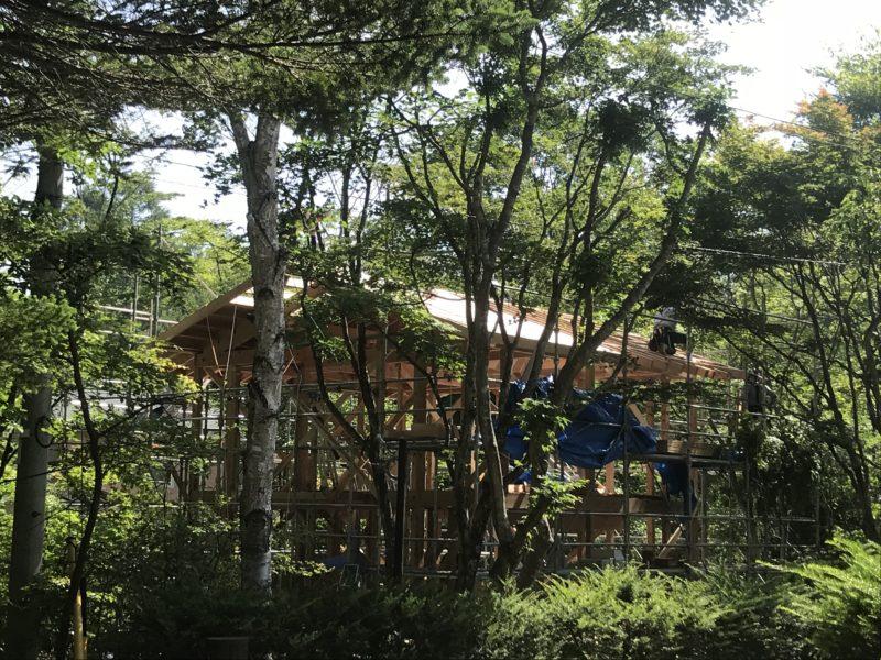 軽井沢の別荘 設計