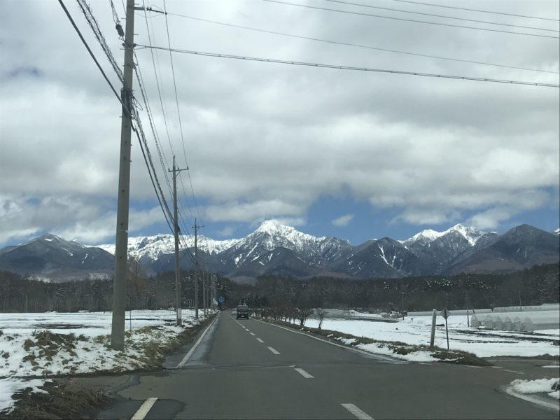 八ヶ岳 敷地に向かう途中