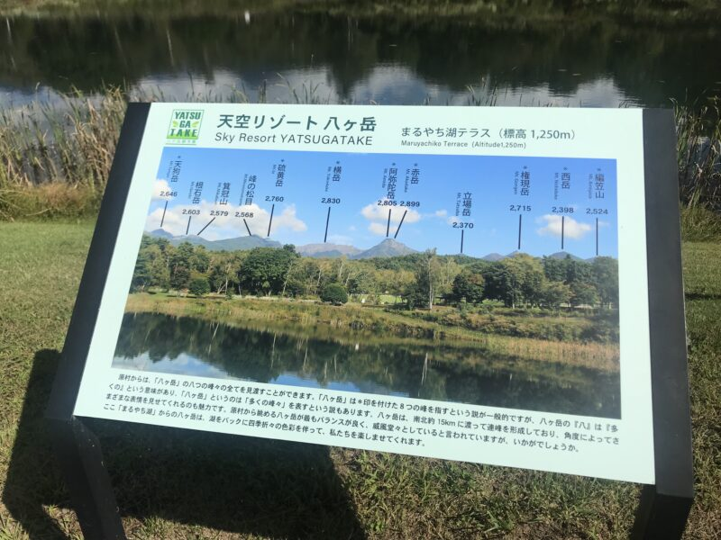 原村 八ヶ岳自然文化園 まるやち湖テラス