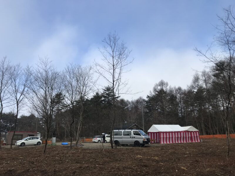 地鎮祭 軽井沢 遊びの家