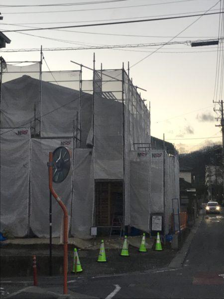 東西にひろがる家 松本市  2020.12.20