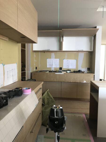 製作キッチンの設置 松本市
