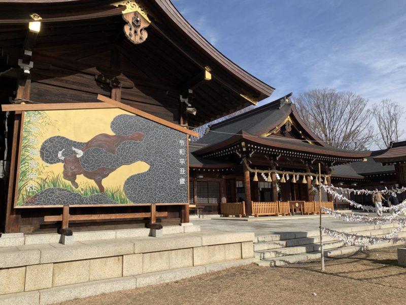 長野県護国神社(松本市)