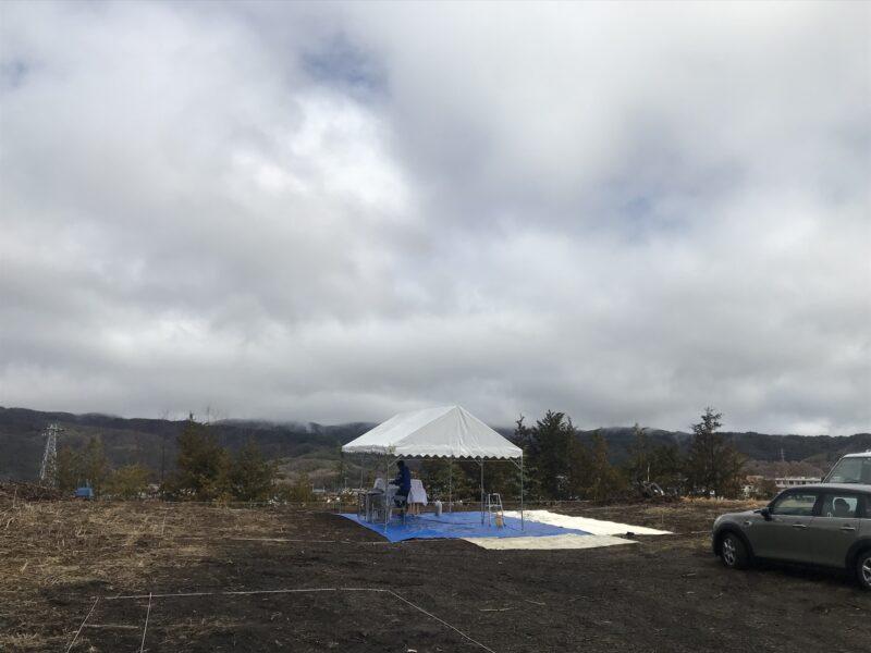 地鎮祭「霧ヶ峰を望む家」