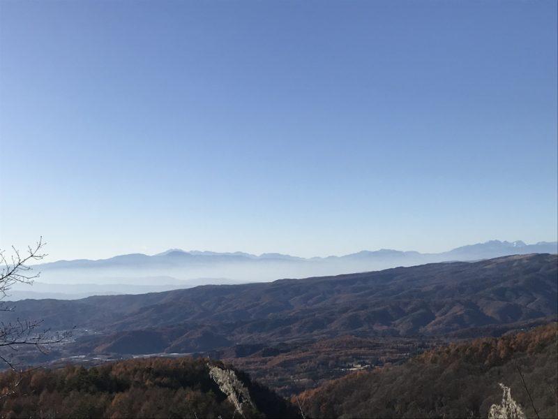 別荘設計 奥蓼科から見える景色