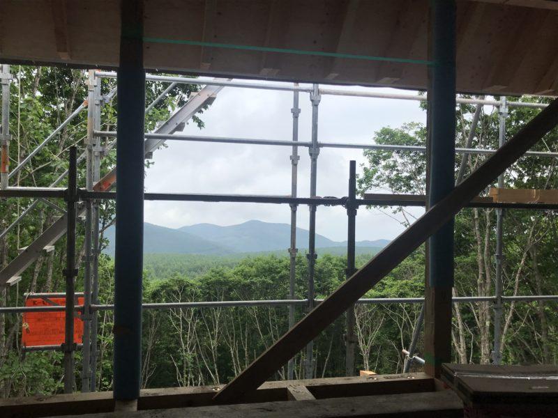 峰の原高原の別荘