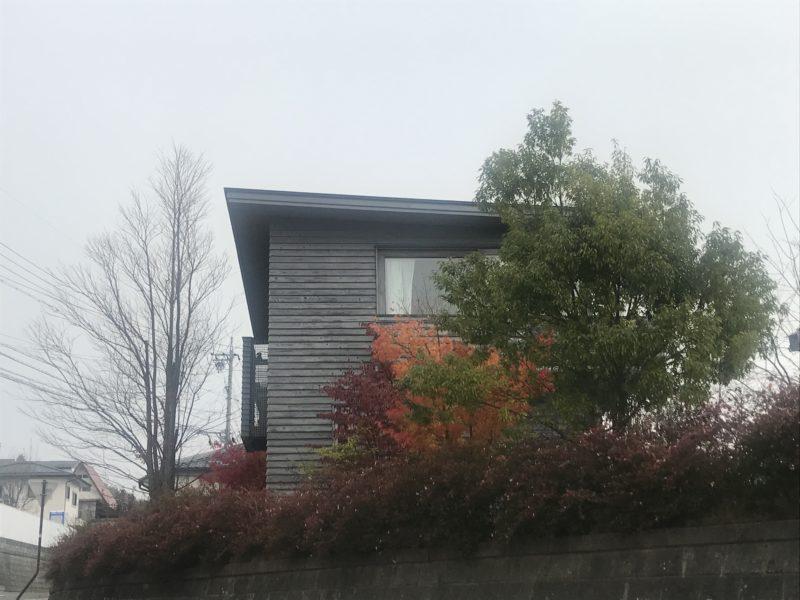 14年前に竣工した松本市の家 見わたす家